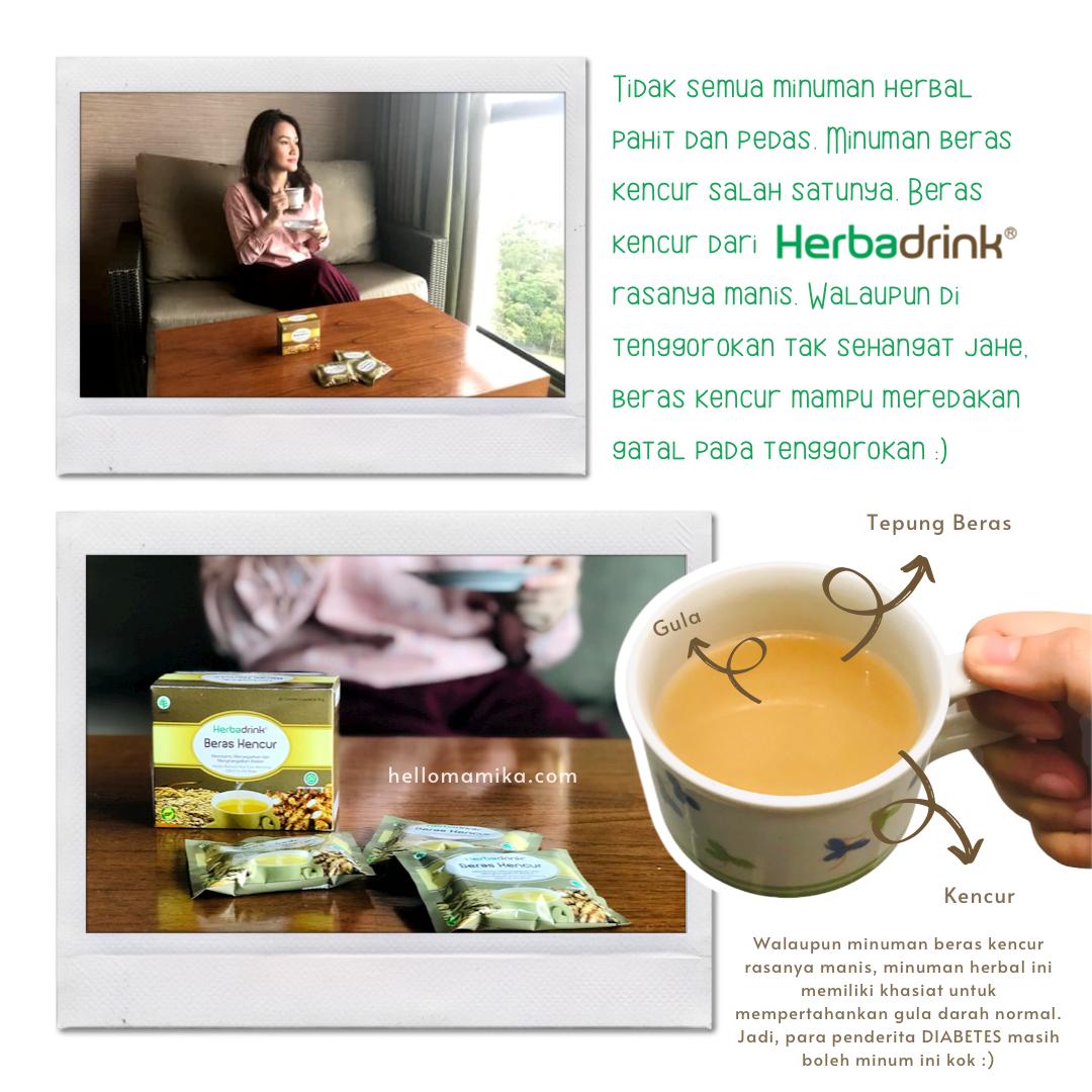 Herbadrink beras kencur review hellomamika