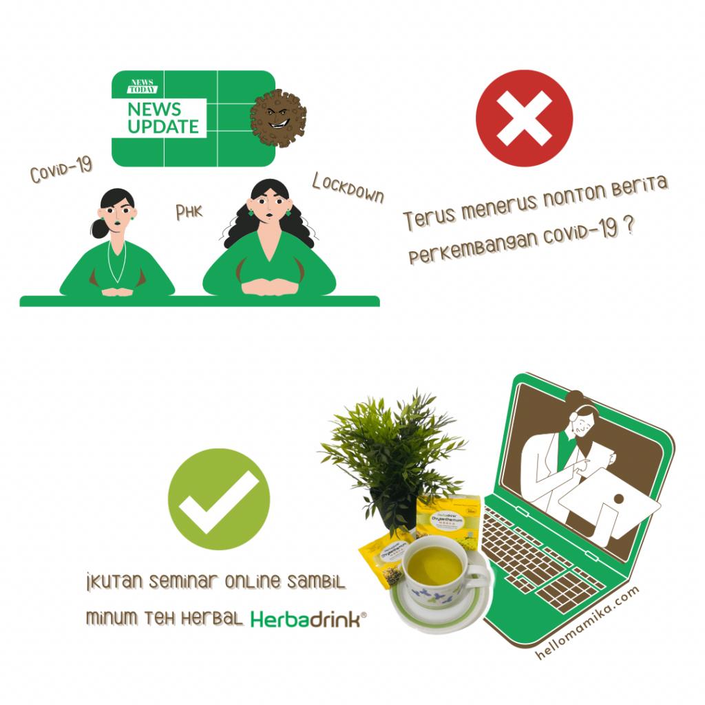Herbadrink hellomamika tips sehat pandemi
