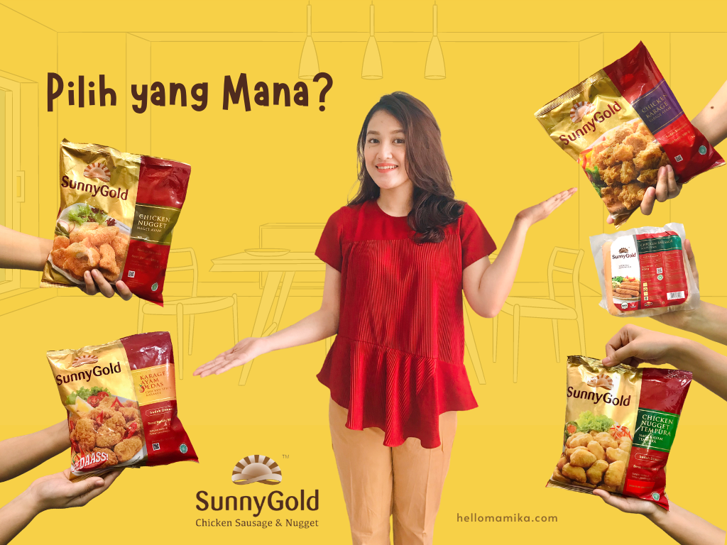 Sunnygold sosisi nugget frozen food