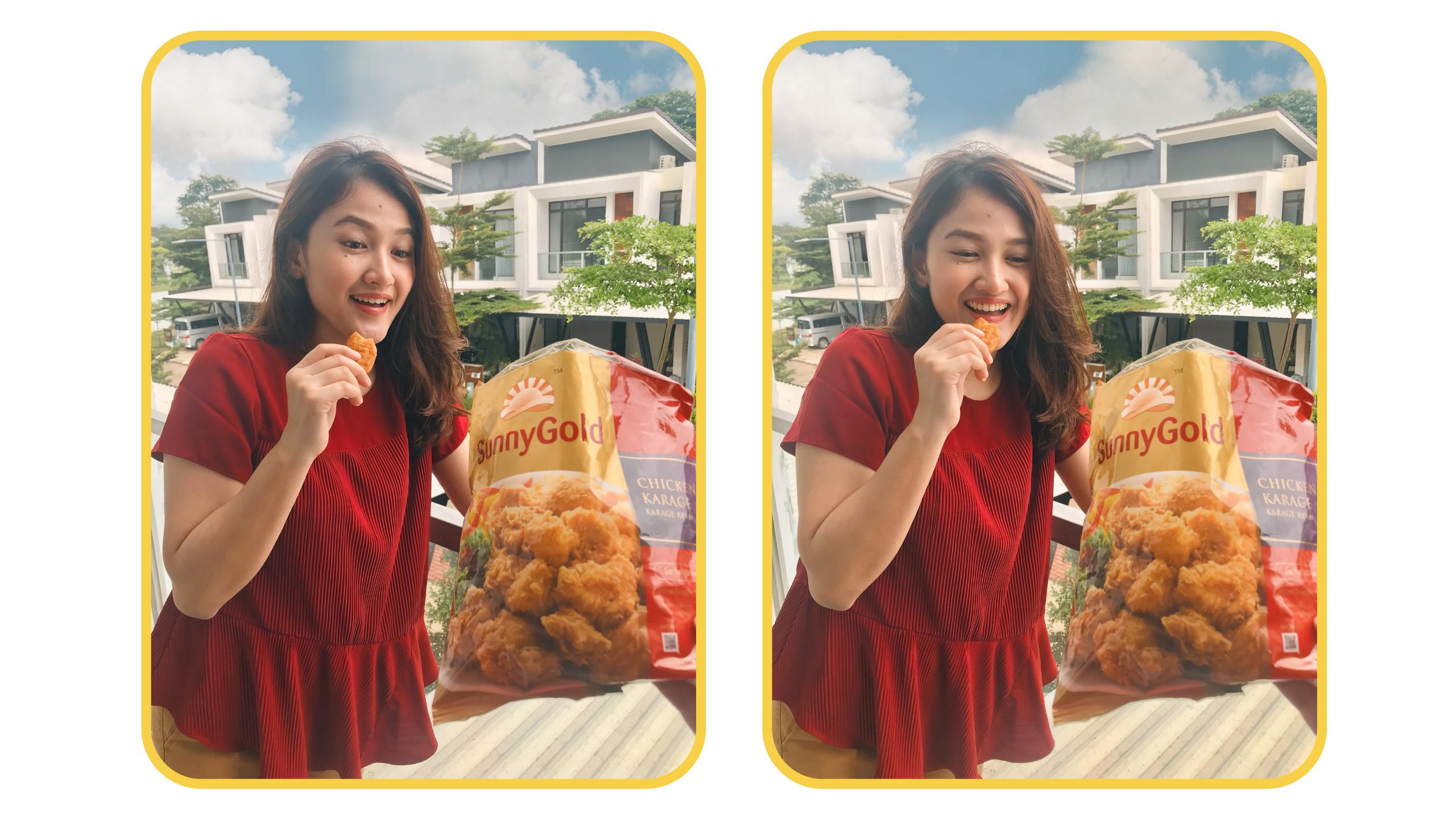 Sunnygold nugget dan sosis ayam