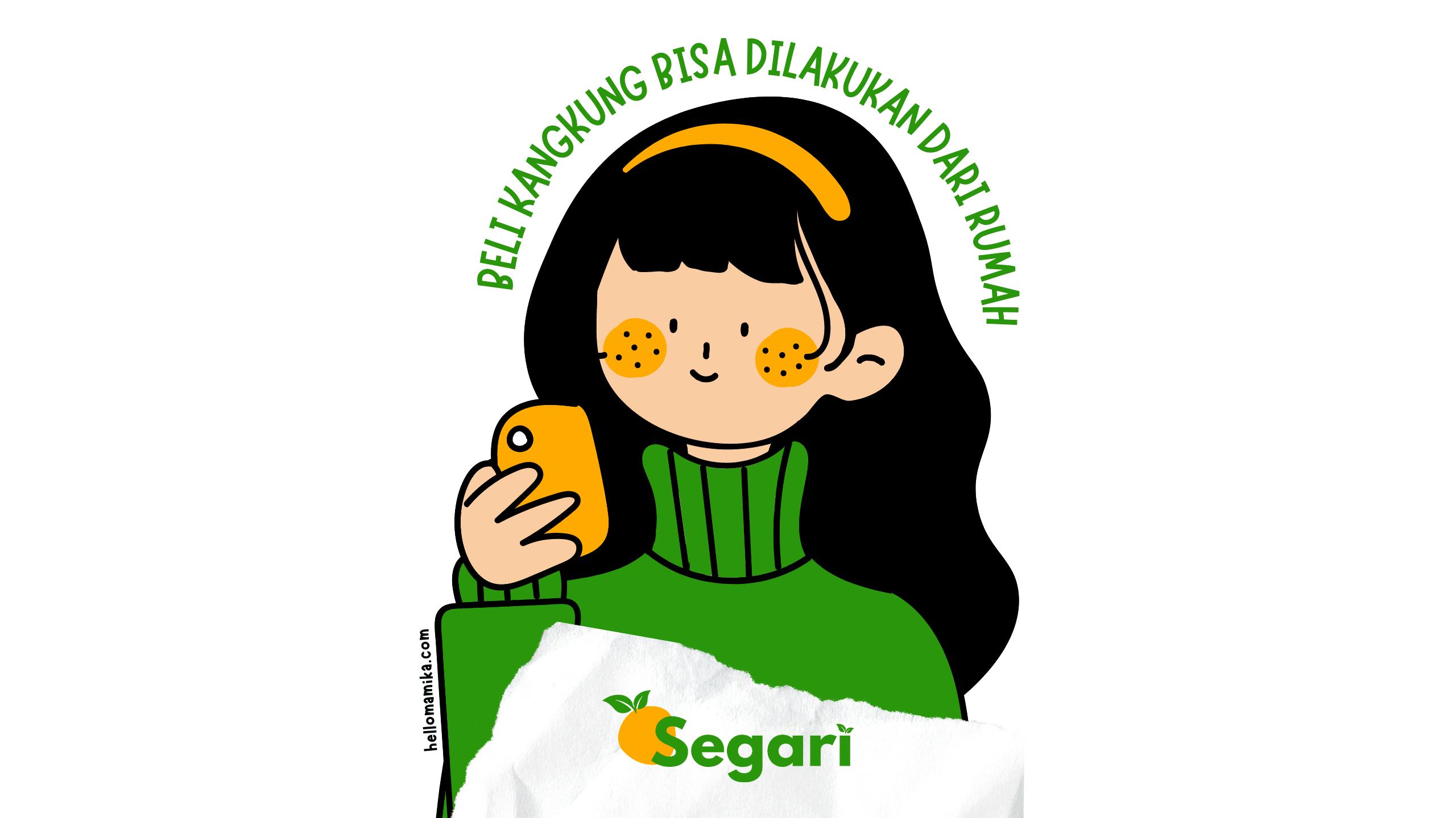 Review segari.id sayur online