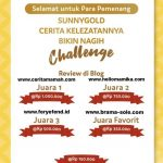Pemenang lomba blog sunnygold