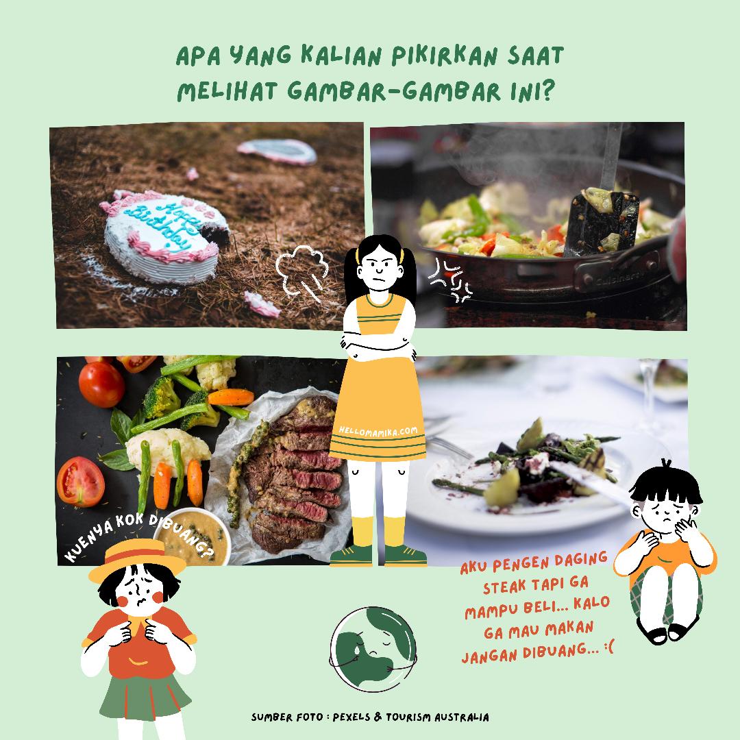 Gaya hidup bebas sampah makanan bandung food smart city