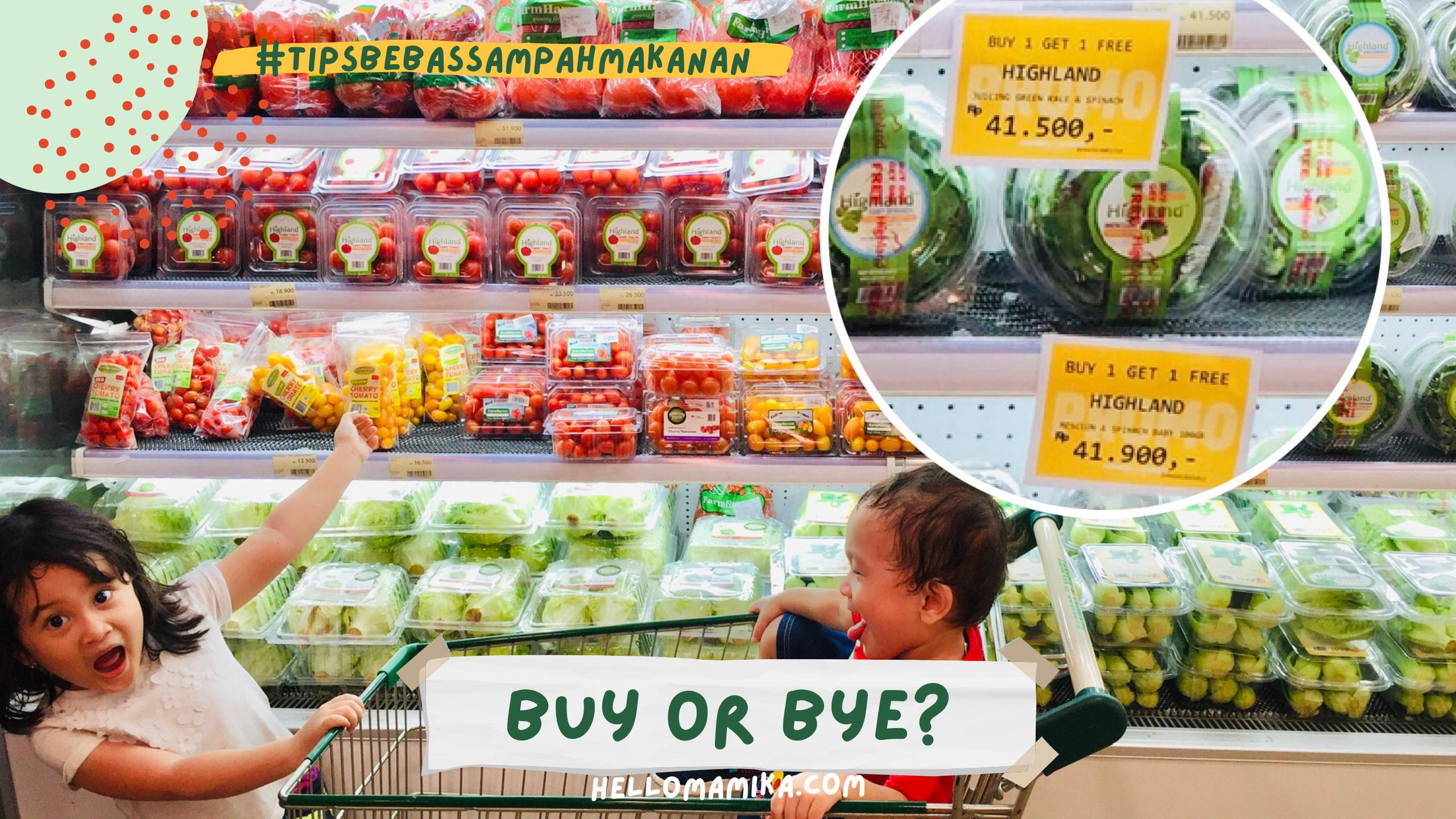 Gaya hidup minimalis bebas sampah makanan bandung food smart city